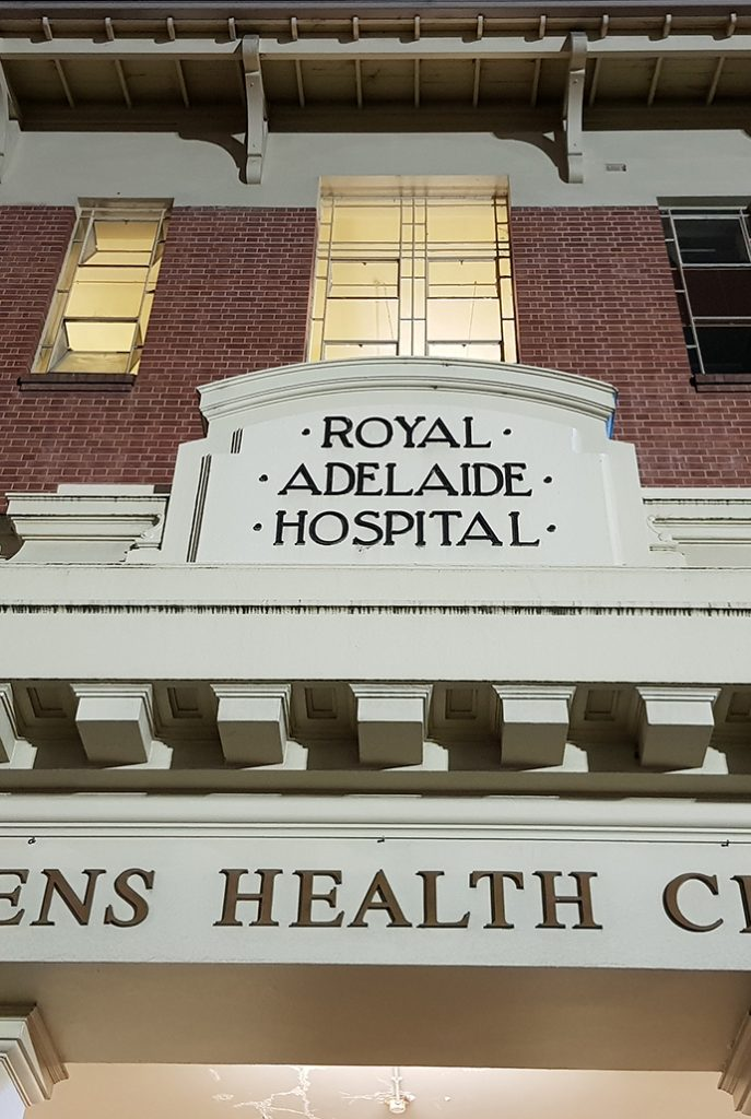 Former Royal Adelaide Hospital - Grey Nurse Ghost