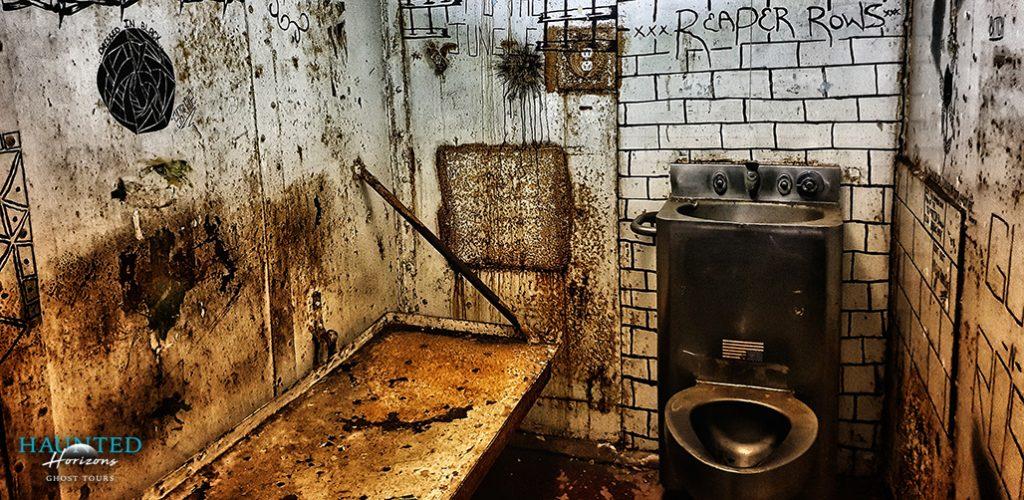 Haunted West Virginia Penitentiary - cell block
