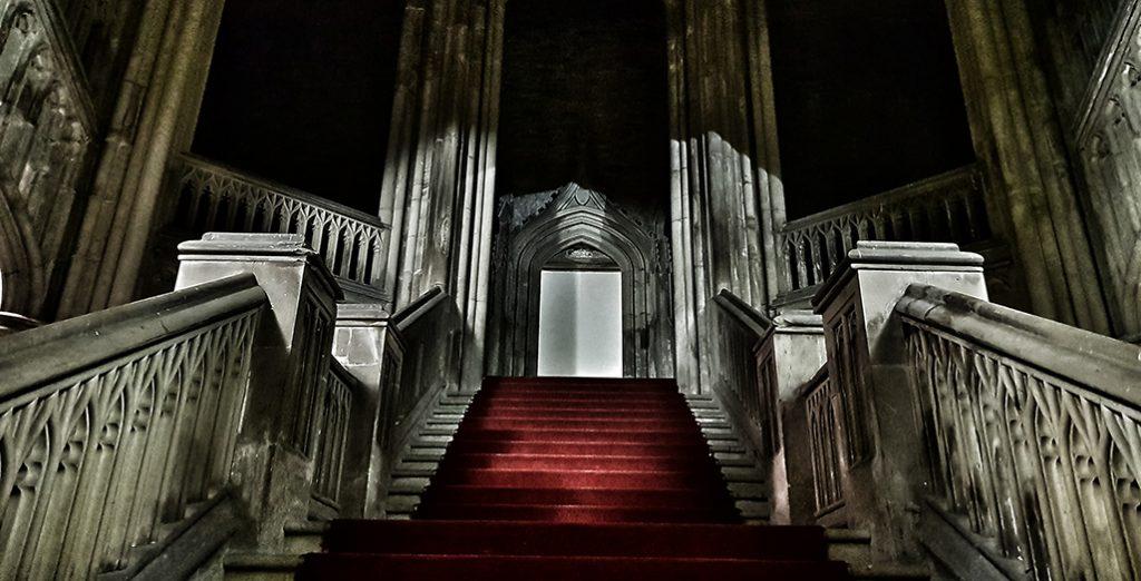 Margam Castle - Gothic staircase