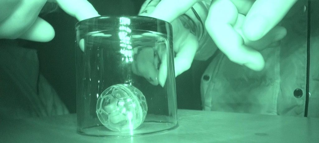 Shepton Mallet Prison - Ball moves