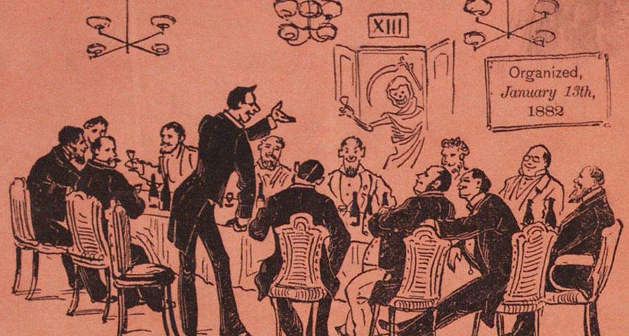 Thirteen club - superstition