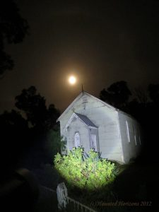 Wolseley Church - Haunted town