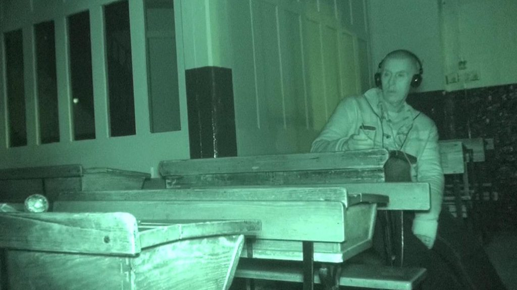 Haunted Ragged School Museum recreated schoolroom