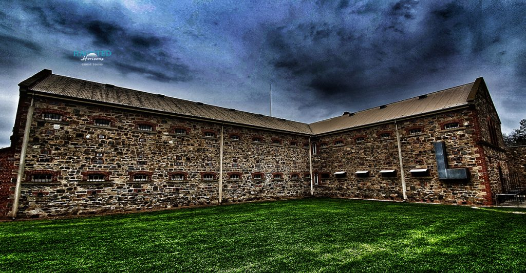 Haunted New Building - Adelaide Gaol Ghosts