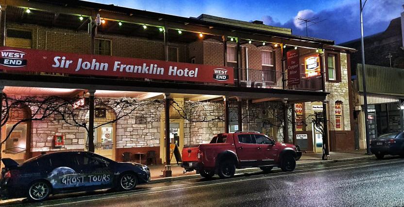 Sir John Franklin Hotel Ghosts Kapunda