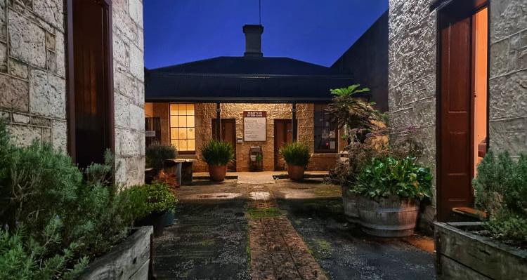 Mount Gambier Gaol courtyard