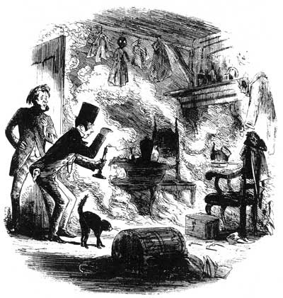 Spontaneous Human Combustion, Charles Dickens, Bleak House