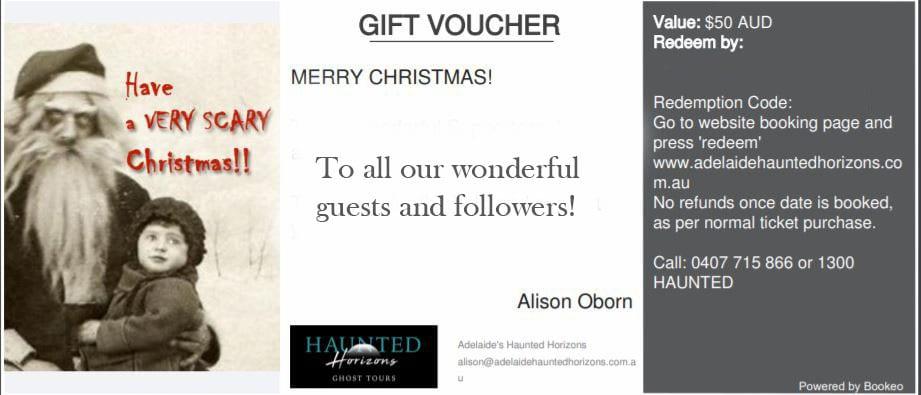 Gift vouchers - haunted horizons