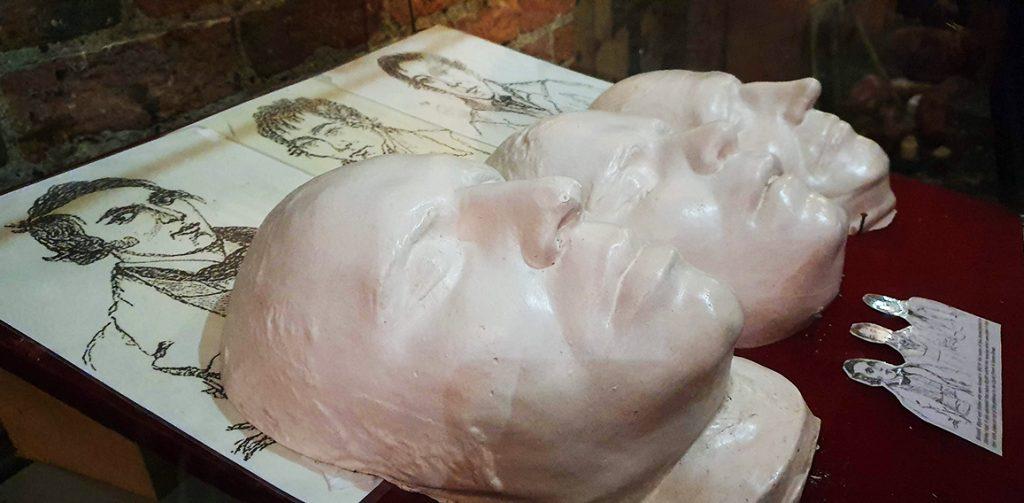 Death Masks - old Derby Gaol