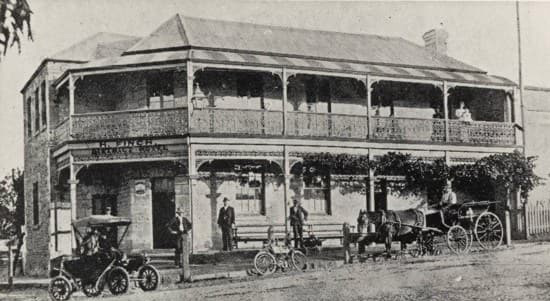 Gumeracha Hotel History