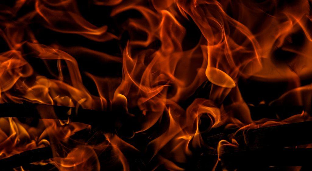 Fire - spontaneous human combustion Gawler
