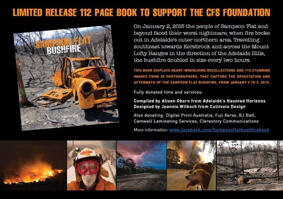 Samson Flat Bushfire book by Alison Oborn