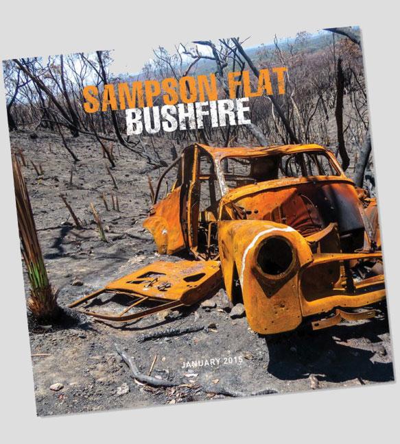 Cover - Samson Flat Bushfire book by Alison Oborn