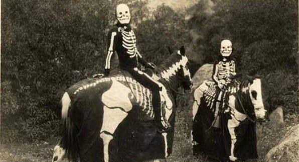 vintage halloween customs