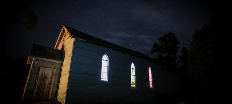 Haunted Church - Old Tailem Town Ghost Tours
